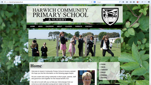 Harwich Primary School Website