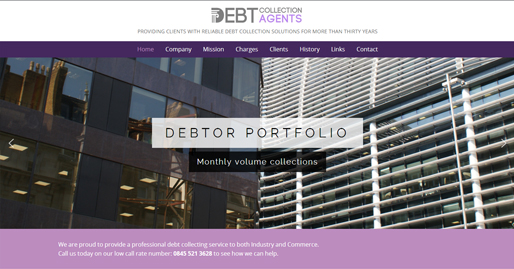 Debt Collection Agents Website